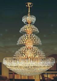 large modern chandelier 3 light