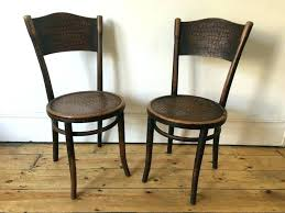 thonet bentwood chair bentwood chairs vintage cafe bistro dining faux croc for large size thonet