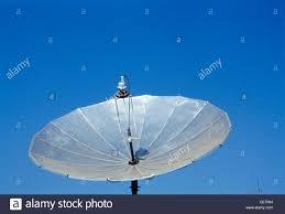 Tv Dish Antenna Are Designed Parabolic Satellite Tv Dish Antenna Stock Photo 43179756