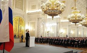 address by president of the russian federation