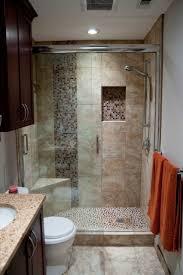 ... Mosaik Black Backsplash And Elegant Marble Textiles Wall Wet Room  Decoration And Dark Brown ...