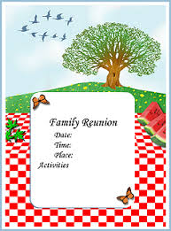Family Reunion Flyers Templates Family Reunion Planning Guides Apps And Books How To Make A