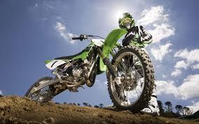 green kawasaki motocross wallpaper desktop free 628929