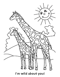 Download Coloring Pages. Giraffe Coloring Pages: Giraffe Coloring ...