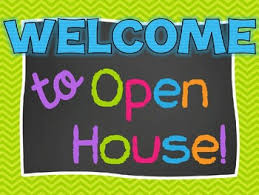 Open House Powerpoint Chevron And Chalkboard Open House Parent Night Powerpoint