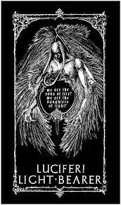 Lucifer Light Bearer Light Bearer Lucifer Backpatch