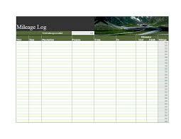 Mileage Worksheet Mileage Log Worksheet Template Templates At
