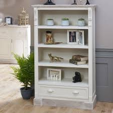 bookcase with drawers. Fine With Cream Tall Vintage Bookcase With Drawer Storage  Lyon Range On With Drawers
