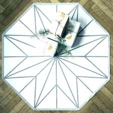 great octagon rug fascinating octagonal ceramic with 6 ft octagon rugs