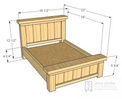 free bed frame plans bed plans doll bed plans easy diy wood project plans free