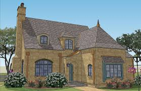 small french house plans