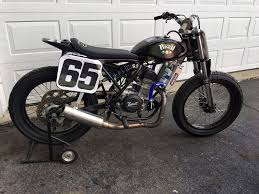 resurrecting a custom framed honda crf450 flat track bike cycle