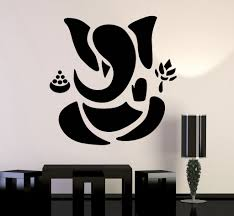 impressive inspiration ganesh wall art remodel ideas gallery of view 10 15 photos cur vinyl decal