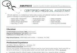 Medical Assistant Objective For A Resume Best of Medical Assistant Resume Skills Armnico