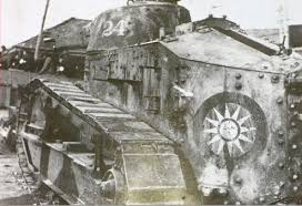 KMT Renault FT With A Type 14 37mm Gun, Thus Proving The Inherited Some  Of Zuolin\u0027s FTs.