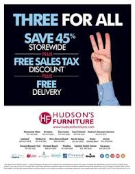 Hudson s Furniture Current Furniture Promotions Tampa St