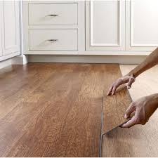 beautiful trafficmaster allure vinyl plank flooring home depot trafficmaster 5 4564 in x 35 4564 in x 4 mm old hickory nutmeg