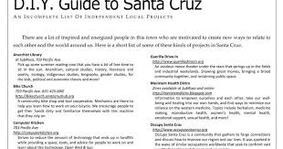 subrosa a community space d i y guide to santa cruz an incomplete list of independent local projects