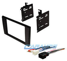 lincoln ls dash kit car stereo radio double 2 din installation black dash trim kit w wire harness