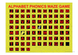 Low central (or front) unrounded vowel. Alphabet Phonics Maze Game A Z With Sounds English Esl Powerpoints For Distance Learning And Physical Classrooms