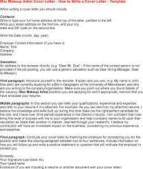 makeup artist resume sample mac cipanewsletter entry level makeup artist cover letter opencharters com