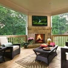 corner design love the fireplace tv outdoor living dream house