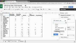 Google Charts Table Google Sheets Create Pivot Tables And Charts