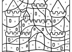 Small Picture 1st Grade Color by Number Coloring Pages Printables Educationcom