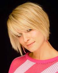 blonde chin length hairstyles for women straight short hair