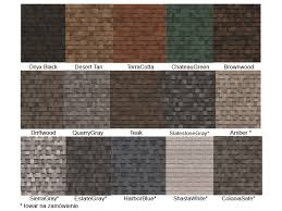 owens corning architectural shingles colors. Owens Corning Architectural Shingle Colors   Kolorystyka Shingles C