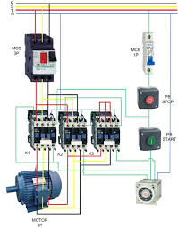 310 best elettro images on pinterest electrical engineering 3 phase contactor with overload wiring diagram at Contactor Relay Wiring Diagram
