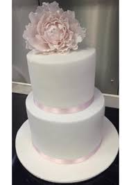Simple 2 Tier Wedding Cake 3 Food Drinks Baked Goods On Carousell