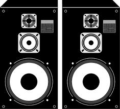 dj speakers clipart. pin speakers clipart black and white #3 dj p