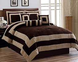 california king bedspreads and comforters.  Bedspreads 7 Pieces Chocolate Brown Suede Comforter Set California Cal King Bedding   Bedin To Bedspreads And Comforters E