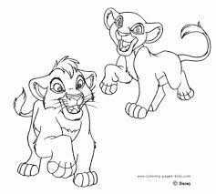 lion king 2 coloring pages intended to motivate in page new