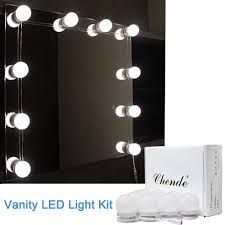 Mirror With Lights Ebay Vanity Led Mirror Light Kit For Makeup Hollywood Mirror With