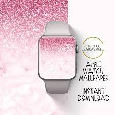 Apple Watch Wallpaper Pink Glitter ...