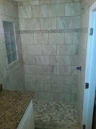 Glass Block Window In Shower another custom tile bathroom landmark contractors 8787 by xevi.us