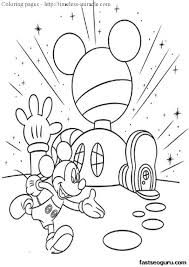 Small Picture Mickey mouse clubhouse coloring page timeless miraclecom