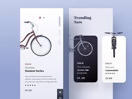 Clean Website Design Inspiration Product Description Page Part 1 Ios App Bike Card Web