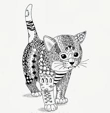 Un Chat Coloriage Divers Diverse Colouring Pinterest Chats