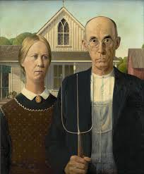 grant wood s american gothic