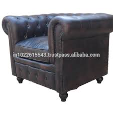 leather chesterfield chair. Industrial Antique Black Chesterfield Sofa Chair, Vintage Leather Chair A