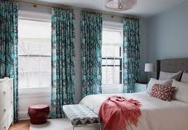 turquoise and teal curtains