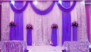 curtain backdrop for weddings excellent m high xm long white and Wedding Background Stage Designs mm ice silk milk white wedding backdrop curtains gold swag with silver sequin fabric with curtain backdrop for weddings most search design wedding stage background ideas