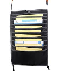 Chair Storage Pocket Chart Classroom File Hanging Storage Pocket Charts Book Oxford