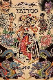 Ed Hardy Flower Design Ed Hardy Tattoos Tattoo Posters Ed Hardy Tattoos