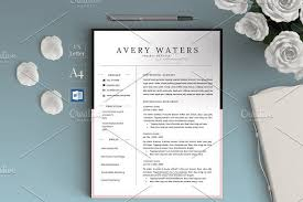 Avery Word Resume Templates Design Graduate Resume Cv For Word