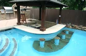pool bar furniture. Outdoor Pool Bar Designs Poolside Kitchen Contemporary Pertaining To New Home Furniture Interior Decorator E