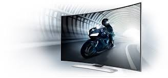 samsung 55 curved tv. curved screen elevates the feeling of depth samsung 55 tv h